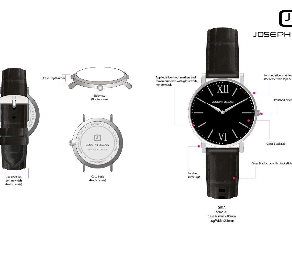 Joseph Oscar – Watch Brand